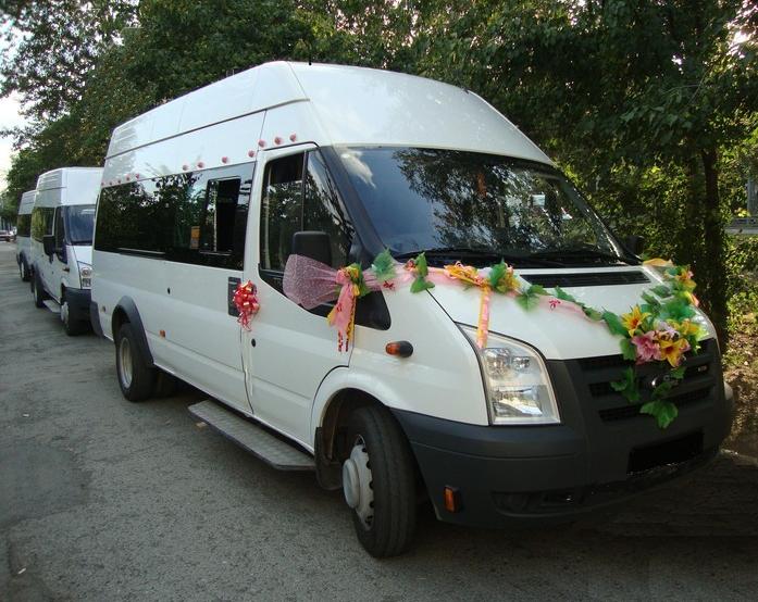 Форд транзит на свадьбу