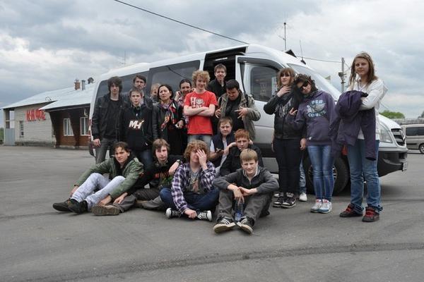 Микроавтобус для школьников